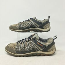 Merrell Trail Hiking Sneakers Comfort Shoes Lace Up Low Top Mesh Brown Mens 11