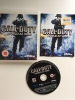 sony playstation 3 ps3 Call Of Duty World At War