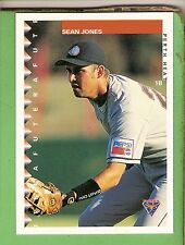 1995 AUSTRALIAN BASEBALL CARD #28  SEAN  JONES, PERTH HEAT