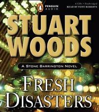 A Stone Barrington Novel: Fresh Disasters No. 13 by Stuart Woods (2007, CD, Unab