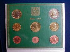 2010 Italy Vatican rare official complete set euro coins UNC Benedetto XVI