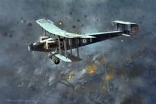 Handley Page O/400 WWI Plane Aviation Aircraft Painting Art Print