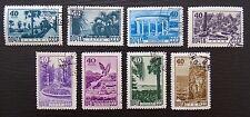 Sowjetunion Mi 1301-1308 , Sc 1310-1317 , Kurorte , Gestempelt