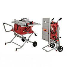 KAY Portable Table Saw 1800W 250MM Bench Top Power Tool w/ Folding Stand 110V