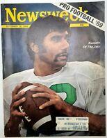 Newsweek Magazine September 15 1969 Joe Namath Pro Football Forecast NFL NY Jets