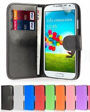 WALLET LEATHER CASE COVER FOR SAMSUNG GALAXY S4 Mini I9190