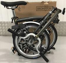 2020 Brompton H6L Raw lacquer 6 Speed fold bike 🌎wide P&P