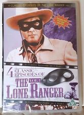 NEW & Sealed The Lone Ranger - 4 Classic Episodes - Vol.1 (DVD, 2013)