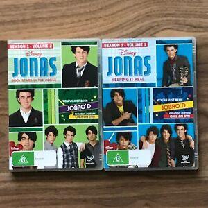 JONAS ROCK STARS IN THE HOUSE (DISNEY) SEASON 1 VOLUME 1 & 2 DVD