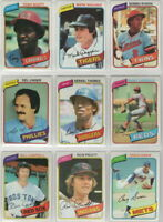 1980 to 2020 Topps Toronto Blue Jays Team Sets  Pick Your Year