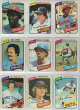 1980 to 2020 Topps Milwaukee Brewers Team Sets  Pick Your Year