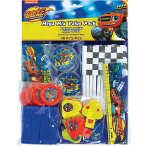BLAZE MONSTER MACHINES 48 piece Mega Value Pack Favours Birthday Party
