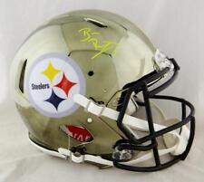 Ben Roethlisberger Signed Steelers F/S Chrome Speed Authentic Helmet-Beckett