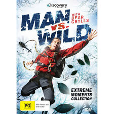 MAN VS WILD EXTREME MOMENTS COLLECTION - NEW/SEALED DVD (DISCOVERY, BEAR GRYLLS)