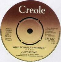 """JUDY STONE ~ WOULD YOU LAY WITH ME? / FORGIVE ME ~ 1976 UK 7"""" SINGLE"""