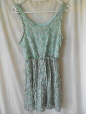 LILY WHYT Green Polyester Top Sz 6 BNWT BUY ANY 5 ITEMS = FREE POST