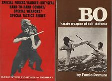 MARTIAL ARTS SELF-DEFENSE 4 PBs BO STICK FIGHTING IRON HAND FIGHTING POWER
