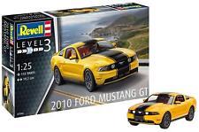2010 Ford Mustang Gt, Revell Car Model Building Kit 07046