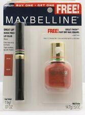 Maybelline Great Lip Lip Color - Mauve + Great Finish Nail Polish - Desert Rose