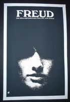 FREUD Cuban Silkscreen Poster for U.S. Movie About Famed Psychiatrist / CUBA ART