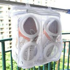 Newest Laundry Bag Shoes Washing Drying Mesh Net Organizer Pouch Home Supply BG