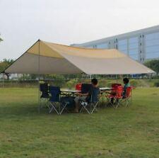 Waterproof Rainfly Camping Patio Yard Beach Wedding Gazebo Awning Canopy Tent