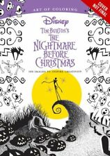 Art Of Coloring: Tim Burton's The Nightmare Before Christmas: 100 Images to...