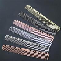 Aluminum Professional Hairdressing Salon Barber Hair Cutting Hair Comb Tool Q