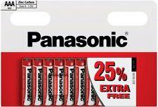 "NEW PANASONIC AAA SIZE 10 PK ""S"" ZINC CARBON BATTERY 25% EXTRA FREE""PANAR03RB10"""