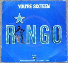 Ringo Starr (Beatles) - You're Sixteen Apple picture sleeve 45 single Australia