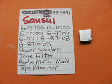 SANSUI 5319491 PUSH SWITCH CAP G-4700 G-5700 G-6700 G-7700 KNOB RECEIVER