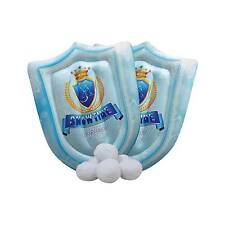 Indoor Beach Toys Snowball Fight Set - SNOWTIME Anytime 6pk Plus 2 Inflatable
