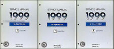 1999 Pontiac Grand Prix Shop Manual 3 Vol Set SE GT GTP Repair Service Books OEM