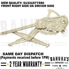 BMW 3 SERIES E36 COUPE CONVERTIBLE 92-99 2/3 DOORS WINDOW REGULATOR FRONT RIGHT