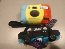 Bark Box Click n' Rip Camera and Fetch Limo Dog Toys (Lot of 2) - New with Tags!