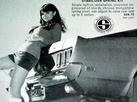 1969 MUSTANG GT VINTAGE AD*ford/shelby/cobra/decal/fender/hood/grille/emblem/svt
