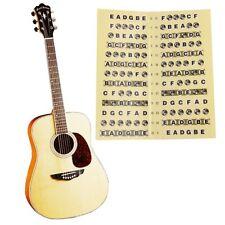 Guitar Bass Fretboard Scale Sticker Fingerboard Markers Label Fret Decal AU