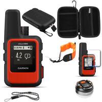Garmin inReach Mini GPS (Orange) with Accessories Bundle
