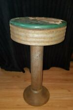 VINTAGE ANTIQUE BAR CAFE DINER COUNTER RESTAURANT STOOL•1950's• Restore Project