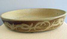 "Stoneware Designs West SDW  12"" Abstract ART California Pottery Design  Bowl"
