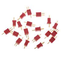 MagiDeal 20x Ultra Mini T Plug Deans Connectors Micro Deans Plug for Motor
