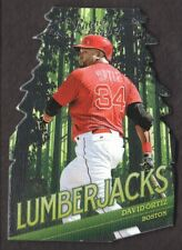 2019 Panini Leather & Lumber Baseball Lumberjacks #2 David Ortiz
