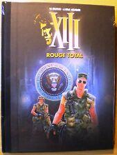 XIII - Rouge total - Vance - Van Hamme - Ed. spéciale Neuf scellé 9000 ex.