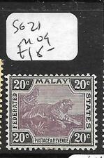 MALAYA FMS (P3110B) TIGER 20C  SG 21  MOG