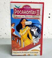 Pocahontas II. Viaggio nel nuovo mondo (1998) VHS NUOVO Incellofanato Collezione