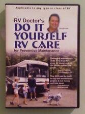gary bunzer rv doctor's DO IT YOURSELF RV CARE for preventive maintenance DVD
