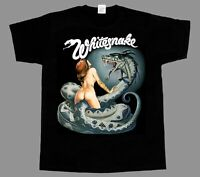 whitesnake lovehunter NEW SHORT LONG SLEEVE BLACK T-SHIRT