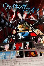 Waking Life 2001 Japanese Animation Mini Poster Chirashi B5 Richard Linklater