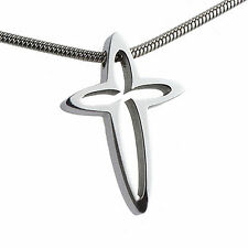 CROCE Ernstes design acciaio inox an433 CIONDOLO senza catena croce