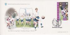 FOOTBALL STAMPS 1962 FA CUP FINAL TOTTENHAM HOTSPUR V BURNLEY SOUVENIR COVER